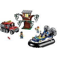 Lego City Город Полицейское судно на воздушной подушке Hovercraft Arrest 60071