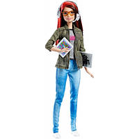 Barbie Барби программист Careers Game Developer Doll DMC33
