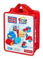Mega Bloks Первые строители Машинки Build N Learn Zoomin Vehicles Bag