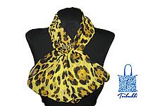 Фантазийный платок с кольцом-украшением Leo-16