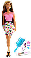 Barbie Никки Радужные волосы  Rainbow Hair Nikki Doll