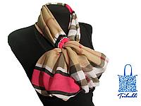 Фантазийный платок с кольцом-украшением Burberry-12
