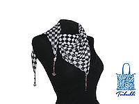 Фантазийный платок с фурнитурой Chess-5