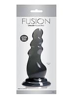 Фаллоимитатор на присоске Fusion Dream Charcoal