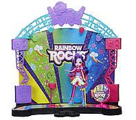 My Little Pony Equestria Girls Девочки Эквестрии Игровой набор Рок-концерт Rainbow Rocks Mane Event Stage