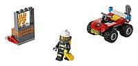 LEGO CITY Пожарный квадроцикл Fire ATV 60105