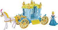 Disney Золушка с каретой Little Kingdom Magiclip Cinderella Carriage