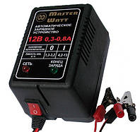 Импульсное зарядное устройство 12В 0.3А/0.8А MASTER WATT