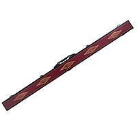 Футляр для кия (кейс) кожаный 121 см