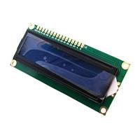 LCD 1602 модуль для Arduino, ЖК дисплей, 16х2 blue