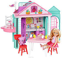 Домик Барби Челси + кукла Челси / Barbie Club Chelsea + Chelsea Doll