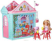 Набор Barbie Домик для Челси + кукла Chelsea Club DWJ50, фото 2