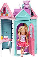 Набор Barbie Домик для Челси + кукла Chelsea Club DWJ50, фото 5