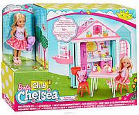 Набор Barbie Домик для Челси + кукла Chelsea Club DWJ50, фото 6