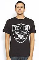 Футболка мужская с принтом Ice Cube Raiders