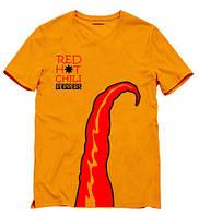 Мужская Футболка  Red Hot Chili Peppers  ред хот чили пеперс