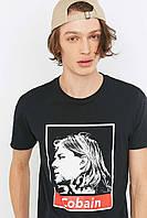 Футболка мужская с принтом Urban Outfitters  Cobain Placement
