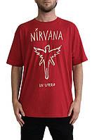 Мега Футболка мужская с принтом ROIAL Nirvana Utero