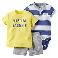 Комплект с шортами Carters Капитан