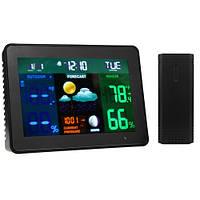 Беспроводная метеостанция с выносным датчиком, цветной экран
