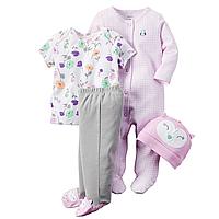 Подарочный комплект для новорожденного Carters Совушка, Размер 9м, Размер 9м