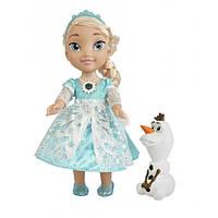 Disney Холодное сердце Принцессы Диснея Моя первая малышка Ельза поющая Disney Frozen Snow Glow Elsa Singing Doll