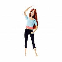 BARBIE Барби 22-шарнирная кукла красные волосы Made to Move Lalki Red Hair DHL81