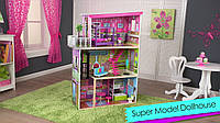 KidKraft Кукольный домик Супер деревянная модель Super Model Wooden Dollhouse with 65849