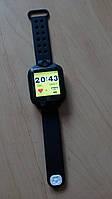 Детские умные часы Q200 Black GPS с камерой черные Qvark