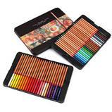 Карандаши цветные Marсo 48 цветов в металлическом пенале Fine Art-48TN, фото 2