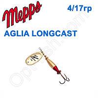 Блесна Mepps AGLIA LONGCAST zlota gold 4/17g