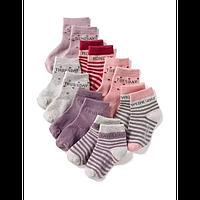 Комплект носочков для девочки, Размер 4-5, Размер 4-5