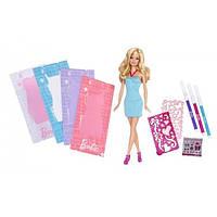 Barbie Барби Студия дизайна одежды Fashion Design Plates Dress and Doll