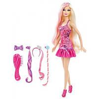 Barbie Барби с набором гламурные прически Hairtastic Glam Hair Barbie Doll