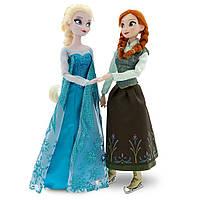 "Disney Холодное сердце набор Анна и Эльза на коньках Frozen Princess Elsa & Anna Ice Skating Doll Set 11.5"""