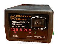 Импульсное зарядное устройство 12В 20A/10A/5A MASTER WATT