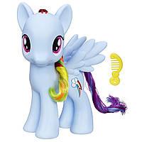 My Little Pony Рэйнбоу Дэш большая 20 см Friendship is Magic Rainbow Dash 8-Inch Figure