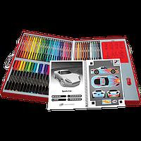 Crayola Набор для творчества в чемодане 62 предмета Virtual Design Pro-Cars Set