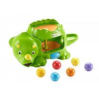 Fisher-Price Развивающая игрушка Динозавр с шариками Double Poppin' Dino