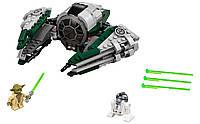 Lego Star Wars Звёздный истребитель Йоды YODA'S JEDI STARFIGHTER 75168