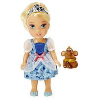 Disney Принцессы Диснея Золушка Малышка с мышкой Princess Toddler Doll Petite Cinderella with Gus Gus