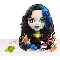 Monster High Голова-манекен для макияжа и причесок Gore-geous Ghoul Styling Head, White
