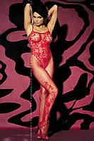 Сексуальный боди – комбинезон F205 Obsessive (Обсессив) красный,белый,черный, фото 1