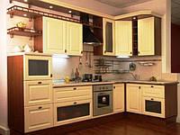 Кухня с фасадами МДФ пленочный матовый