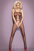 Сексуальный боди – комбинезон Bodystocking с бантиками N107 Obsessive (Обсессив), фото 1