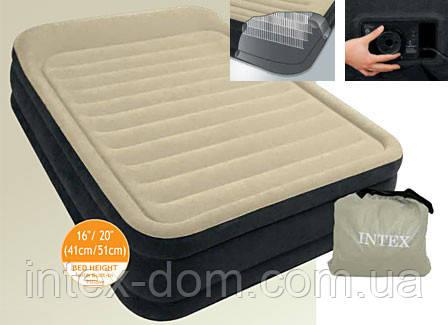 Кровать надувная INTEX 64404(152 х 203 х 33 см)