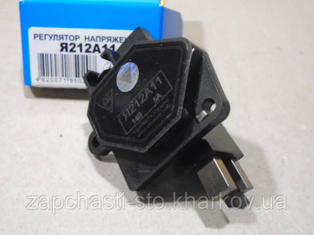 Регулятор напряжения ВАЗ 2108-2110, Нива карбюратор, без проводка (14.1В) ВТН