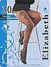 Колготки Elizabeth 30 den. fantasy Nero р.4 (00125/013) | 5 шт.