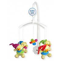 Музыкальный механический мобиль с мягкими игрушками Baby Mix, Мишки 4