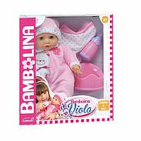 Говорящая кукла Виола (укр. яз., 44 см, пьет, мочит подгузник, с аксессуарами)
